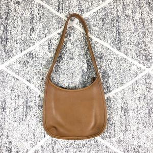 Vintage Coach Shoulder Bag Leather